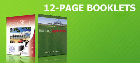 1,000 12-Page Booklets Starting At $1209