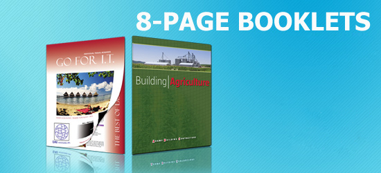 1,000 8-Page Booklets Starting At $1107