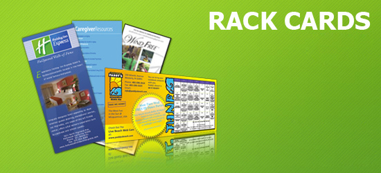 5,000 Rack Cards Starting At $149